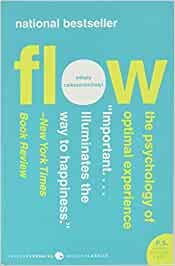 Flow – The psychology of an optimal experience